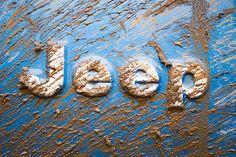 Mud on the jeep