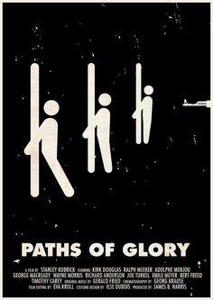 Viktor Hertz - Paths of Glory - Kubrick et le Web - La Cinémathèque française Stanley Kubrick, Jackie Brown, Best Movie Posters, Minimal Movie Posters, Film Posters, Kirk Douglas, King Kong, Barry Lyndon, 2048x1152 Wallpapers
