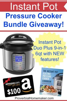 80 best giveaways sweepstakes images on pinterest giveaway enter this fantastic instant pot duo plus giveaway with an amazon card and more fandeluxe Image collections