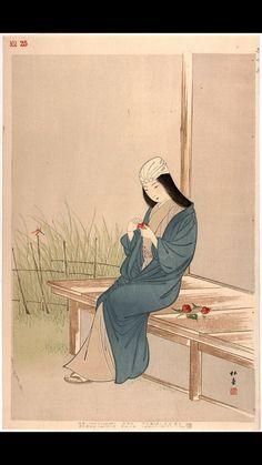 Woman of the Bunnan Era 1444-1449 jibadojo / tumblr