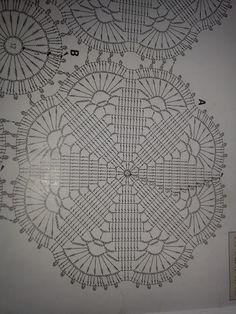 Crochet Archives - Beautiful Crochet Patterns and Knitting Patterns Beau Crochet, Crochet Doily Rug, Crochet Bedspread Pattern, Crochet Motif Patterns, Crochet Chart, Crochet Tablecloth, Crochet Diagram, Crochet Squares, Crochet Home