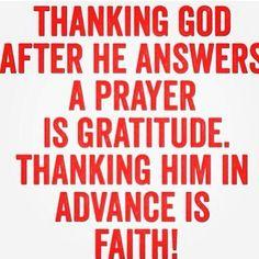 #gratitude #faith