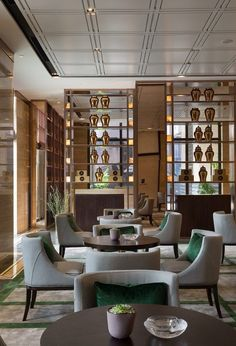 Stunning luxury interior design ideas from modern boutique hotels. Lobby, bedroom, stairways and entryways, a room by room guide to find inspiration with the best interior architecture from world renowned hotels. Luxury Hotel Design, Hotel Lobby Design, Luxury Home Decor, Luxury Interior Design, Interior Architecture, Lounge Design, Restaurant Interior Design, Cafe Interior, Hotel Lounge