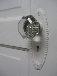 glass doorknob.  I remember these in my grandmother's house.