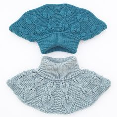 Ravelry: Løvfallhals / Falling Leaves Collar pattern by Strikkelisa A simple and decorative collar with beautiful leaves. Crochet Jumper, Knit Cowl, Crochet Lace, Knitting Patterns, Crochet Patterns, Diy Scarf, Knitted Afghans, Collar Pattern, Baby Knitting