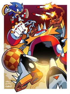 The EggBeater Suit is definitely one of my favorite creations from Archie's Sonic the Hedgehog comics. The only creation that Sonic could never defeat b. I REALLY Hate that Hedgehog! Sonic The Hedgehog, Hedgehog Art, Everyday Life With Monsters, Gamers Anime, Classic Sonic, A Hat In Time, Eggman, Sonic Franchise, Sonic Art