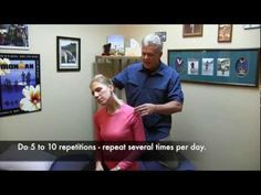 Releasing both the spinal cord and sciatic nerve. This nerve flossing video gives you several ways to mobilize entrapped spinal nerve roots and the sciatic n. Scapula Exercises, Shoulder Pain Exercises, Neck Pain Treatment, Sciatica Massage, Acupressure Massage, Neck And Shoulder Pain, Neck And Back Pain, Axillary Nerve, Physical Therapy