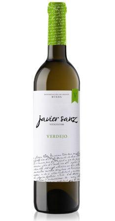 Botella de Verdejo clásico de Javier Sanz