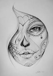 Image result for simple skull drawing ideas