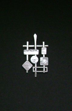 Love this!  Sterling Silver Conteporary Geometric Pendant by SignetureLine, $75.00