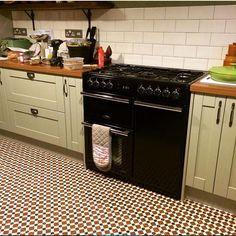 metro wall tile and henley warm floor tile