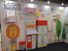 It's the last day of @bleeurope , make sure you stop by the stand and say hi  . . . . . . #childrensbrand #newbrand #lemonribbon #licensing #ble2017 #ble17 #lion #houses #kidsbooks #childrensbooks #kensingtonolympia