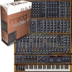 Moog Modular V synthesizer