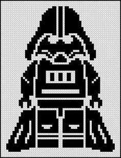 BOGO FREE! Darth Vader, Star Wars Cross Stitch Pattern StarWars Cross Stitch Needlecraft Embroidery Needlework PDF Instant Download #002-4