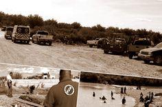 <p>Ojinaga, Chih.-El reporte de una persona desaparecida en aguas del rio conchos a la altura del puente de las vegas este martes por la tarde, originó