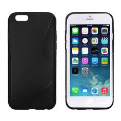[$0.73] S Line Anti-skid Frosted TPU Protective Case for iPhone 6 & 6S(Black)