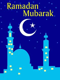 Eid ul-Fitr blessed with peace, happiness and prosperity, it's all for your loved ones. Free online Address To Koran ecards on Eid ul-Fitr Ramadan Gif, Bon Ramadan, Islam Ramadan, Ramadan Messages, Eid Crafts, Ramadan Crafts, Ramadan Activities, Preschool Activities, Ramzan Images