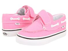 Cute!!!  May have to get these too!    Vans Kids Zapato Del Barco V (Infant/Toddler)