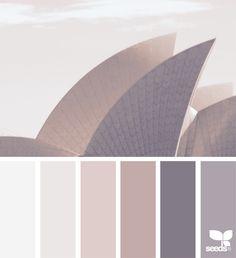 Color palette { skyline tones }