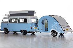 Danbury Launches Celebration Edition T2 Camper and Teardrop Caravan   Motoring News   Honest John