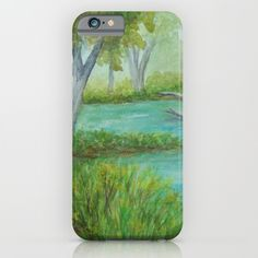 Little Manistee River MM120824a iPhone & iPod Case