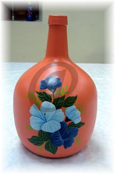 Decoupage, Diy And Crafts, Painting, Color, Google, Tin Can Crafts, Wine Bottle Crafts, Empty Wine Bottles, Creative Wall Decor