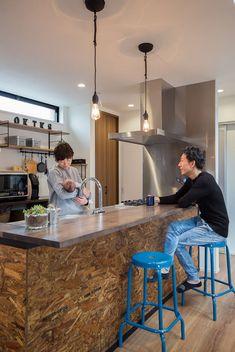 Kitchen Drawer Organization, Kitchen Drawers, Kitchen Interior, Kitchen Decor, Interior Architecture, Interior Design, Japanese Kitchen, Home Renovation, Coffee Shop