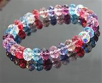 Austria Crystal & Silver Bracelet #fashion #crystal #jewelry #bracelet