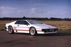Lotus Esprit Turbo the poster car of my childhood Lotus Auto, Lotus Car, Lotus Esprit, Bond Cars, Sport Cars, Race Cars, Car Pictures, Exotic Cars, Vintage Cars