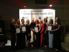 Our gorgeous team! Finalists in two team categories & our Medi Spa director Karla McDiarmid was named Winner of the 'Young Entrepreneur' category
