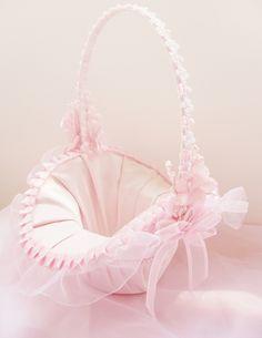 flower girl basket ruffle - Recherche Google