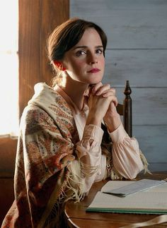 Emma Watson as Meg March in 'Little Women' dir. by Greta Gerwig) - Emma Watson Emma Watson, Book Aesthetic, Character Aesthetic, Hollywood Actor, Hollywood Actresses, Meg March, Harry Met Sally, Drama, Ali Larter