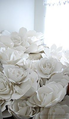 large chanel paper flower wall inspired wedding backdrop wall for world of posh NY
