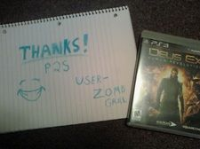 I got this PS3 game Deus Ex: Human Revolution from this awesome site by doing surveys.