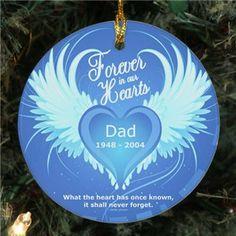 Memorial Ornament | Personalized Memorial Ornament