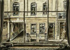 View from a window, Charles II Street John Aldridge