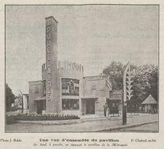 The Limoges pavillion at the 1931 Paris Colonial Exposition