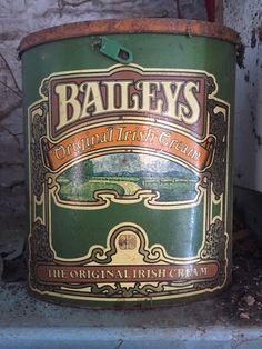 Vintage large Baileys tin | eBay