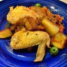 Pollo alla cacciatora de tradition