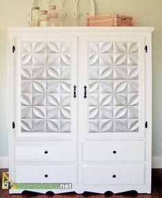 Как преобразить шкаф своими руками - Переделываем из старого