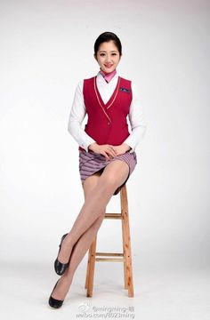 Alfredo's media statistics and analytics Cute Asian Girls, Beautiful Asian Girls, Flight Girls, Flight Attendant, Airline Attendant, Girls In Mini Skirts, Nylons And Pantyhose, Rock Outfits, Asia Girl