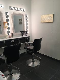 Makeup room at The Colour Lounge by Samantha George