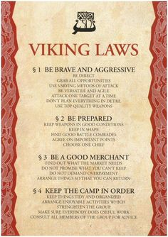 Books of Shadows: Viking Laws. Viking culture is so beautiful. Norse Pagan, Norse Mythology, Norse Goddess, Norse Runes, Citations Viking, Tatto Viking, Viking Quotes, Viking Sayings, Viking Culture