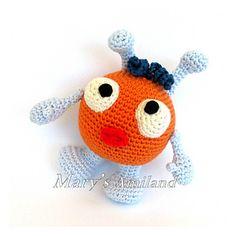 FREE crochet pattern Bubble The Ami by Mary's Amiland