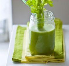 Morning Glorious Juice - Serves 2     1 large cucumber  A fistful kale  A fistful romaine  2 or 3 stalks celery  1 big broccoli stem  1 green apple, quartered  1/2 peeled lemon, quartered