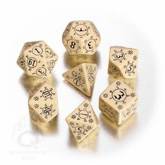 Pathfinder Rise of The Runelords Dice Set by Q Workshop Paizo D D Adventure Path | eBay