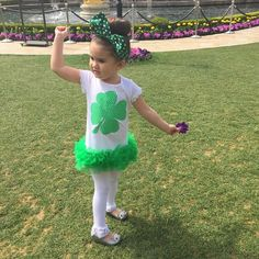 A festive St. Patrick's Day outfit from @zulily!