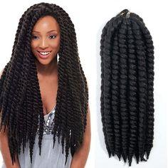 EVET havana mambo twist crochet braid hair havana twist crochet hair senegalese twist hair crochet twist braids hair