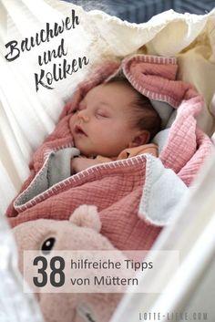 38 hilfreiche Tipps gegen Koliken und Bauchweh bei deinem Baby. Von Müttern empfohlen #baby #dreimonatskoliken #koliken #bauchweh #eltern