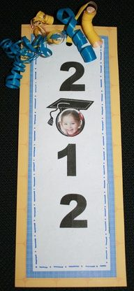 graduation bookmark